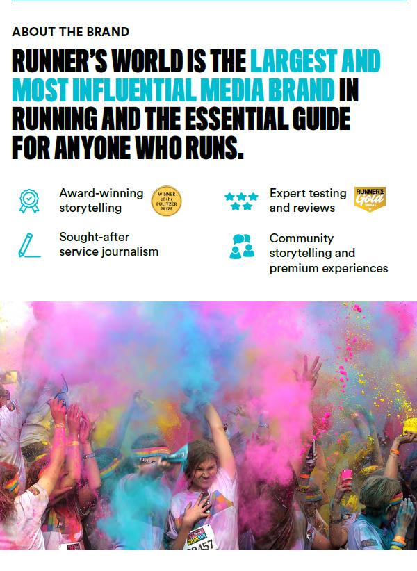 Who We Are - Runner's World Magazine Media Kit