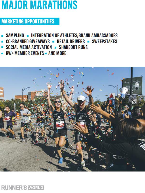 Major Marathons - Runner's World Magazine Media Kit