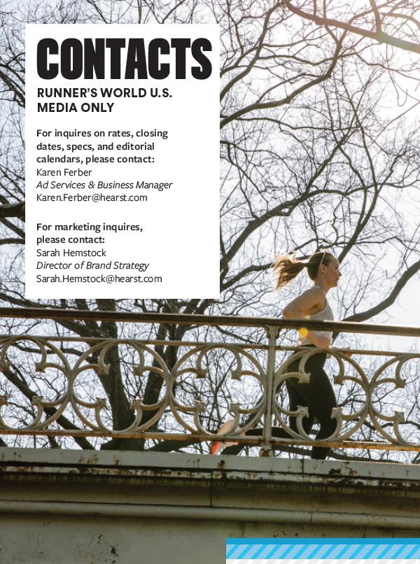 Contact Us - Runner's World Magazine Media Kit